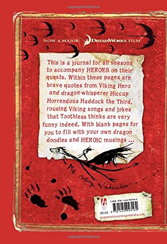 How to train your dragon a journal for heroes cressida cowell how to train your dragon a journal for heroes cressida cowell 9781444923162 amazon books ccuart Choice Image