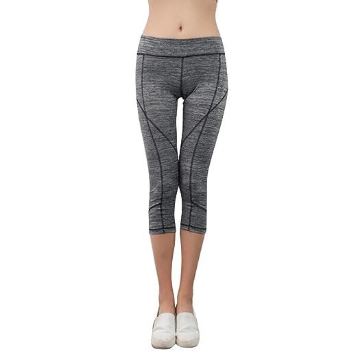 ❤ Pantalones Sueltos de Yoga para Mujer,Ejercicio de Elasticidad Running Yoga Sports Fitness Gym Trouser Absolute: Amazon.es: Ropa y accesorios