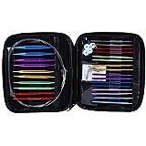 Circular Knitting Needles Set Size 13 Interchangeable Aluminum Knitting Needles Circular 2.75mm-10mm