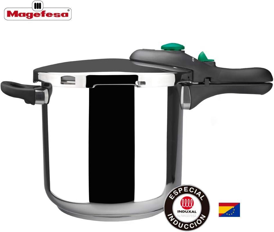 Desconocido MAGEFESA 01OPDINAM06 01OPDINAM06-Olla a presión súper rápida Modelo Dynamic 6L, Metal, 22 cm