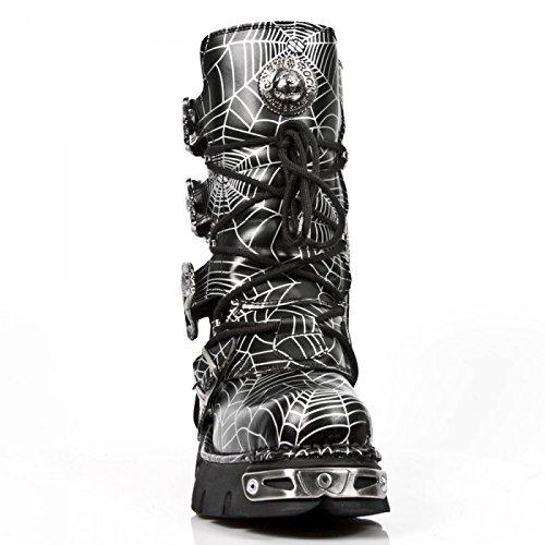 New Rock Laarzen M.391-c150 Gothic Hardrock Punk Unisex Stiefel Schwarz