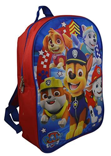 """Nickelodeon Paw Patrol 15"""" School Bag Backpack (Blue)"""