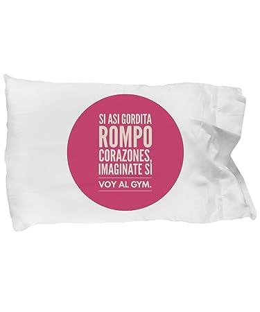 Amazon.com: Funda de Almohada personalizada Gordita ...