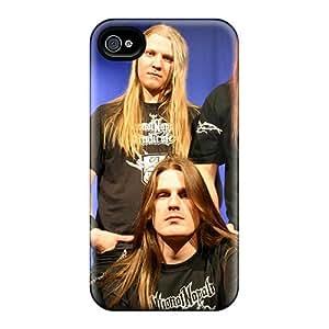 Iphone 4/4s Skz6559eUNC Allow Personal Design Realistic Catamenia Band Series Protective Cell-phone Hard Cover -RitaSokul