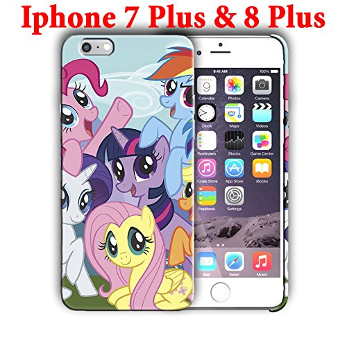 (Hard Case Cover with Cartoon design for Iphone models (pony9) (Iphone 7 Plus/Iphone 8 Plus 5.5in))