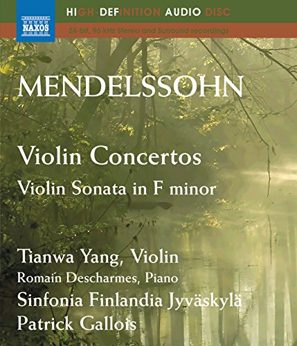 Mendelssohn: Violin Concertos; Violin Sonata in F minor (Blu Ray ()