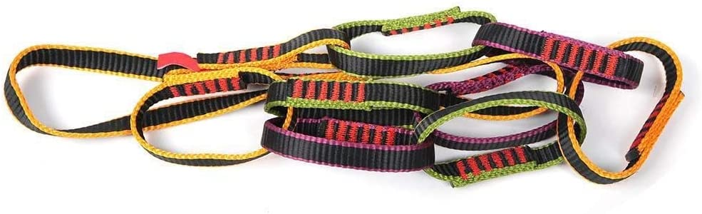 Dgtrhted Outdoor Nylon Climbing Equipment Downhill Forming Ring Sling Daisy Chain Rope Personal Anchor