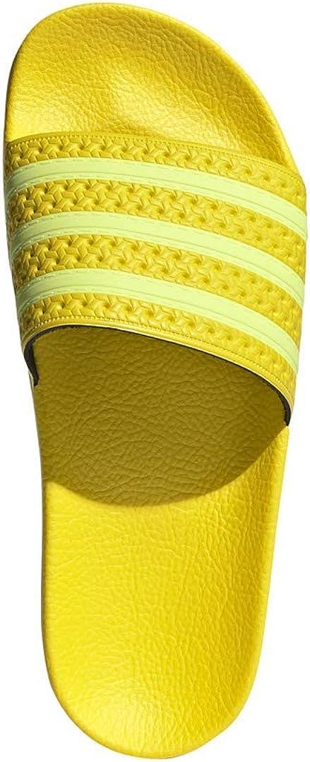 adidas Originales Adilette, Verde Giallo Semi Congelato Giallo