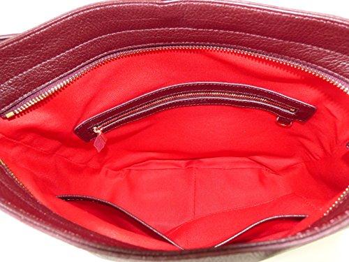 Bolso Burdeos Lancaster Al Para Rojo Hombro Mujer aP6zF1f