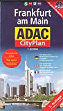 Frankfurt am Main (Germany) 1:20,000 Pocket Street Map ADAC