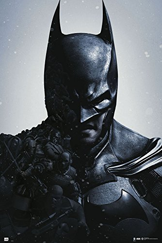 Batman Arkham Knight - DC Comics Gaming Poster / Print (Batman Made Out Of The Bad Guys) (Size: 24