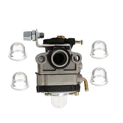 HIPA Pack of Carburetor Primer Bulb for Troy-Bilt TB26TB TB575SS TB525C  Replace 753-04296 753-04745 753-1225 MTD Yardman Ryobi 753-1225