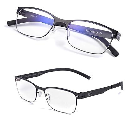 7a9cbb13bf KOMNY Gafas de Lectura BLU-Ray Gafas de Lectura con Zoom Inteligente sin  Tornillos Macho