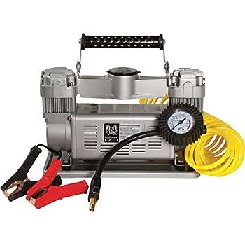 Amazon.com: MasterFlow 12 Volt 120 PSI Twin Air Compressor