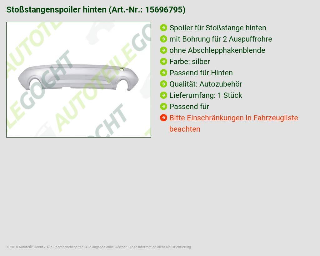 MS Autoteile 15696795 Sto/ßstange Hinten