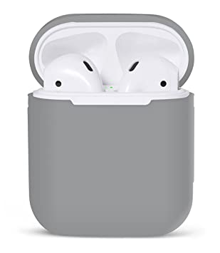 iMusk Airpods Funda de Transporte de Silicona Funda Protectora Funda de Bolsa de Piel para Apple Airpods Auriculares de Aire Auriculares Auriculares ...