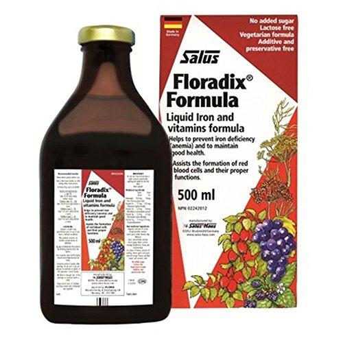 Floradix Formula Iron - SALUS Floradix Liquid Iron Formula (500 ml)
