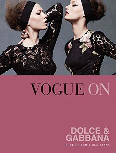 Vogue on Dolce & Gabbana (Vogue on - Designer And Dolce Gabbana Fashion