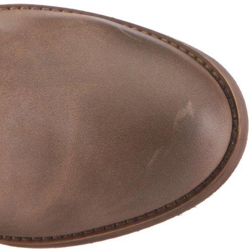 Felmini 6875 - Botas de cuero para mujer Marrón