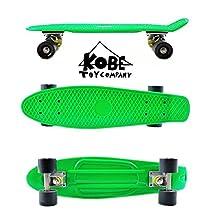 Kobe 40-32002 Green Penny Skate with Black Wheels, 22-Inch