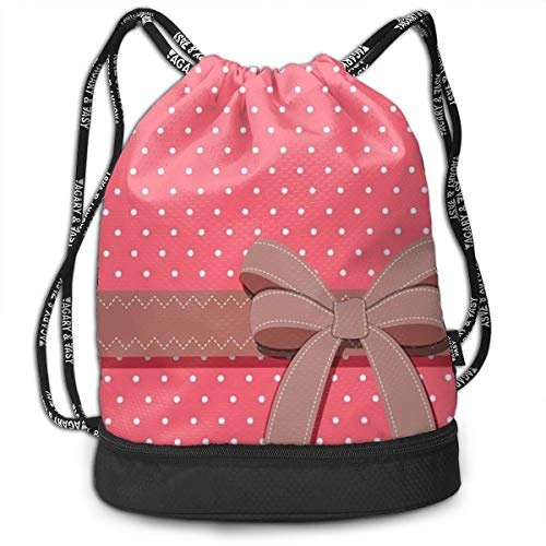 Gymsack Girly Wallpapers Print Drawstring Bags - Simple School String -