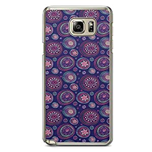 Paisley 5 Samsung Note 5 Transparent Edge Case - Colorful Paisley Collection