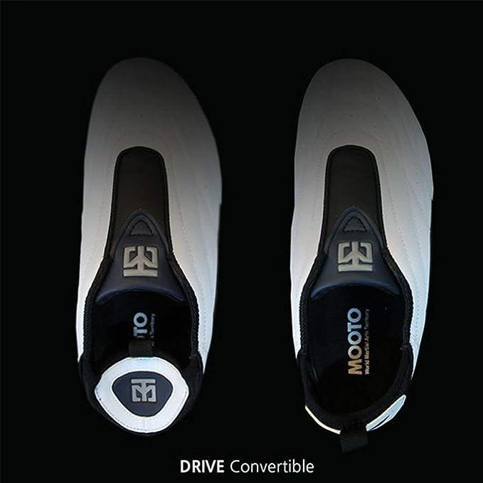 Mooto Korea Taekwondo Drive3 Convertible Shoes Martial Arts MMA Kickboxing Hapkido Karate Gym School Academy Training Foot Protection Guard Match