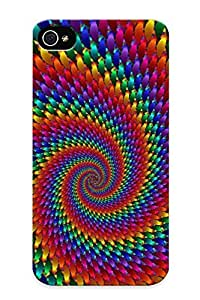 (c2241132801)durable Protection Case Cover With Design For Iphone 4/4s(hippie For Android )