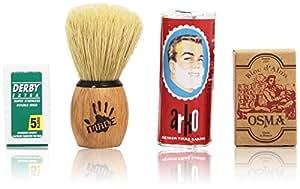 The Shaving Shack Set - Kit de afeitado manual para hombre
