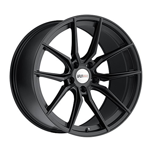 CRAY SPIDER 20x12.0 5/120.65 ET41 CB70.3 MATTE BLACK by Cray (Image #3)