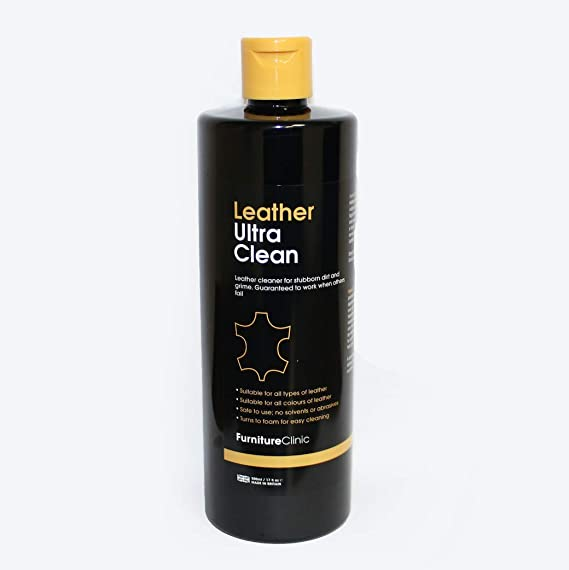 Leather Ultra Clean Leather Cleaner For Car Interiors And Seats Leather Furniture Sofas Shoes Boots Bags Purses 500ml Spray Suitable For All