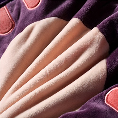 Senmiya Bat Blanket Stuffed Animal Cute Throw Blanket Fuzzy Cuddle Pillow Pet Navy Blue Travel Nap Blanket, Packable, Plush, Portable Back Buddy Pillow for Kids by Senmiya (Image #5)