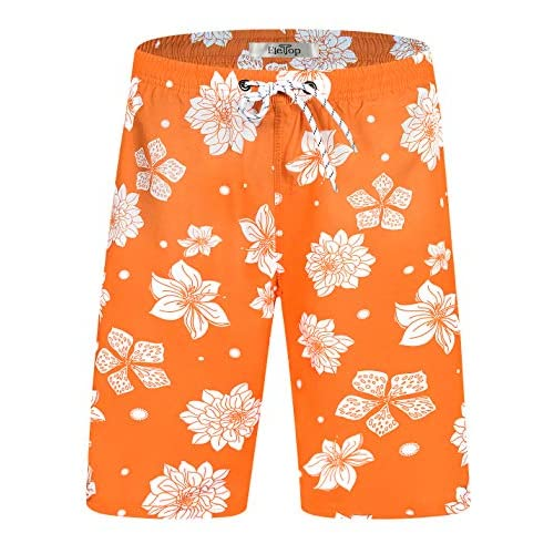 Trailside Supply Co Mens Swim Trunks Quick Dry Board Shorts Holiday Beachwear