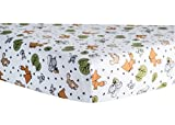 Trend Lab Crib Sheet, Forest Animal