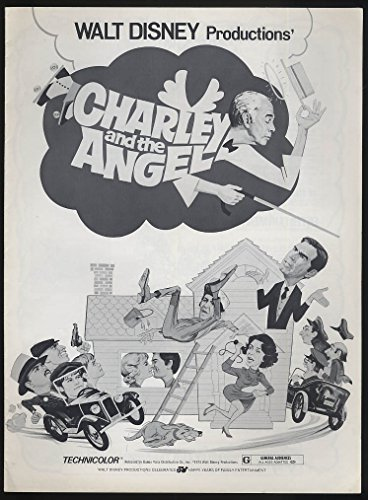 Charley & the Angel movie pressbook Fred MacMurray Kurt Russell 1973 from The Jumping Frog