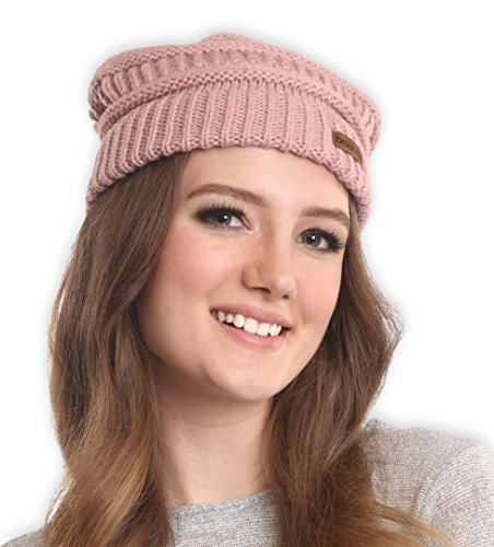 cable-knit-beanie-by-brook-bay-stay-warm-stylish-this-winter-thick-soft-chunky-beanie-hats-for-women