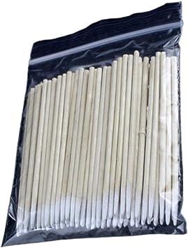 Lurrose 600 piezas de bastoncillos de algodón mango de madera ...