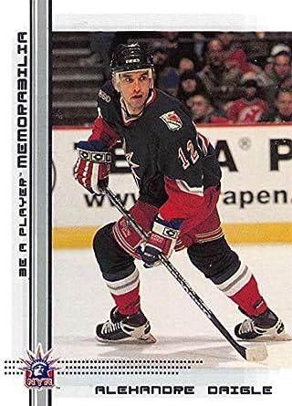 2000-01 Be A Player Memorablia Hockey  349 Alexandre Daigle New York  Rangers Official af60f6242