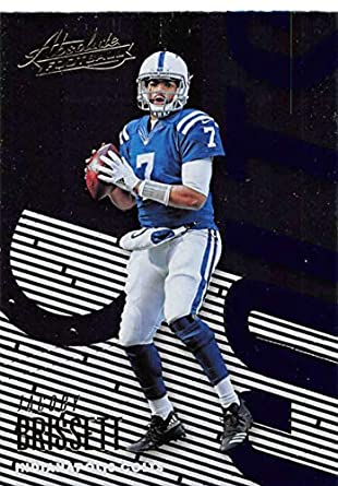 sale retailer 63436 5d6a6 Amazon.com: 2018 Absolute Football #42 Jacoby Brissett ...