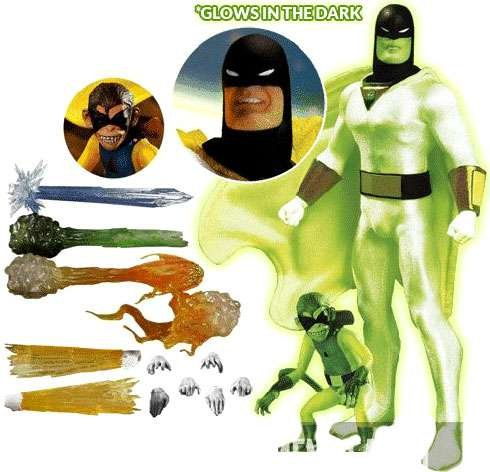 One:12 Collective Space Ghost Glow-in-the-Dark Action Figure