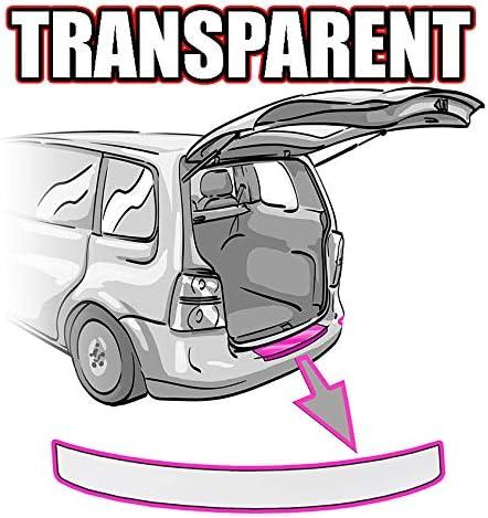 RAV 4 Generation 3 Ladekantenschutz Lackschutzfolie mit Profi-Rakel von CCW/© in Transparent