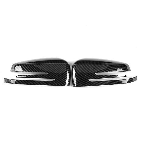 KIMISS Cubierta de la tapa del espejo retrovisor del coche para A B C E GLA Clase W204 W212