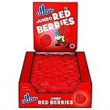 ALLAN Jumbo Red Berries Gummy Halloween Candy, 1080 Gram