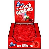 ALLAN Gummy Candy, Jumbo Red Berries, 1080 Gram