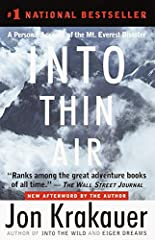 """National BestsellerA bank of clouds was assembling on the not-so-distant horizon, but journalist-mountaineer Jon Krakauer, standing on the summit of Mt. Everest, saw nothing that """"suggested that a murderous storm was bearing down."""" He was wr..."""