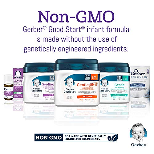 Gerber Good Start Soothe (HMO) Non-GMO Powder Infant Formula Stage 1, 22.2 Ounces (Pack of 6), One Month Supply by Good Start (Image #12)