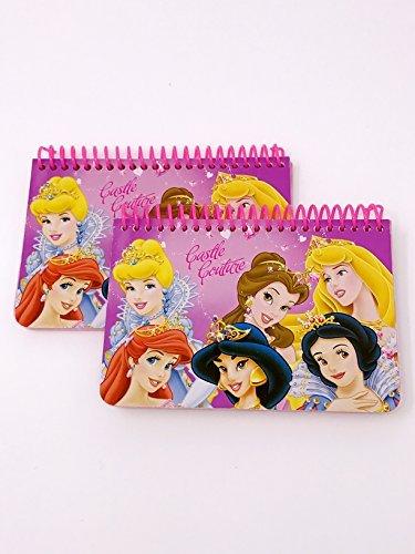 Disney Princess Spiral Autograph Book, 2 pc,