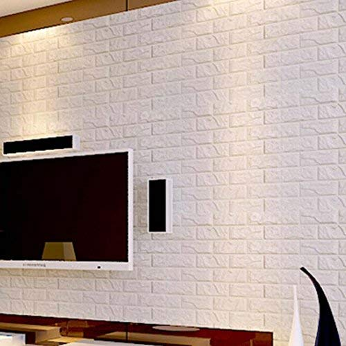 Peel and Stick Wall Panels for TV Walls Sofa Background Wall Decor 23.6x23.6 Porpora Self-adhesive Panel Decal PE Wall sticker 10pack