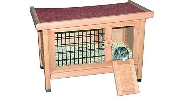 Casa para roedores con piñón libre - jaula para roedores Gehege ...
