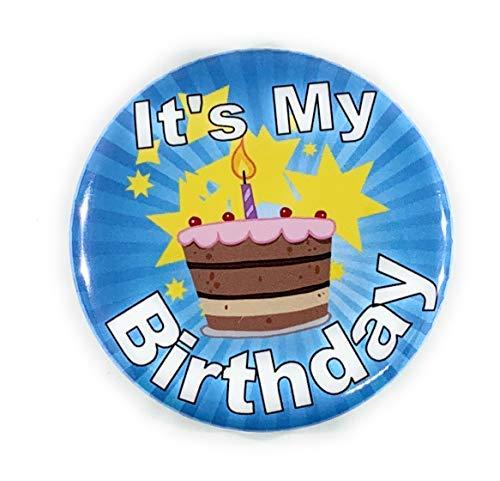 Secure ID, LLC It's My Birthday Button Happy Birthday Fun Birthday